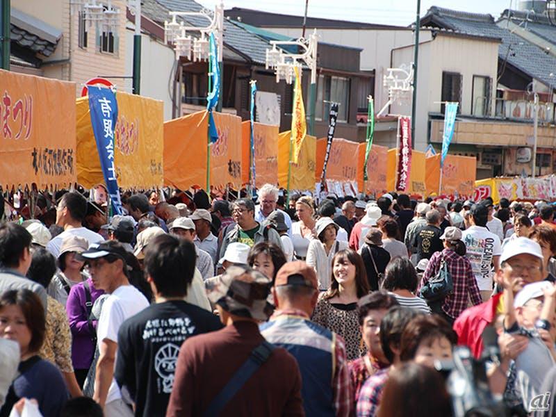 来場者数25万人を誇る岐阜県関市の一大イベント「関市刃物祭り」を株式会社マーケットプレイスが全面的にバックアップ
