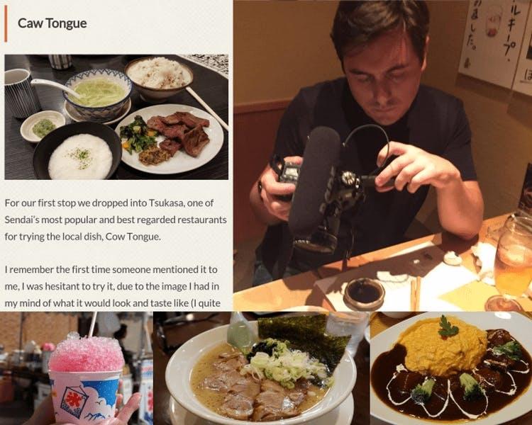 「パナソニックの多言語案内「TranslLet's!」が東北復興プロジェクト「TOHOKU365 Project」に採用~食レポを6言語で配信」プレスリリースより