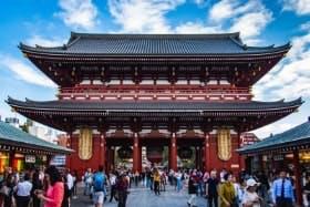 インバウンド人気観光スポットランキング23位「浅草寺」の人気の理由・インバウンド対策とは