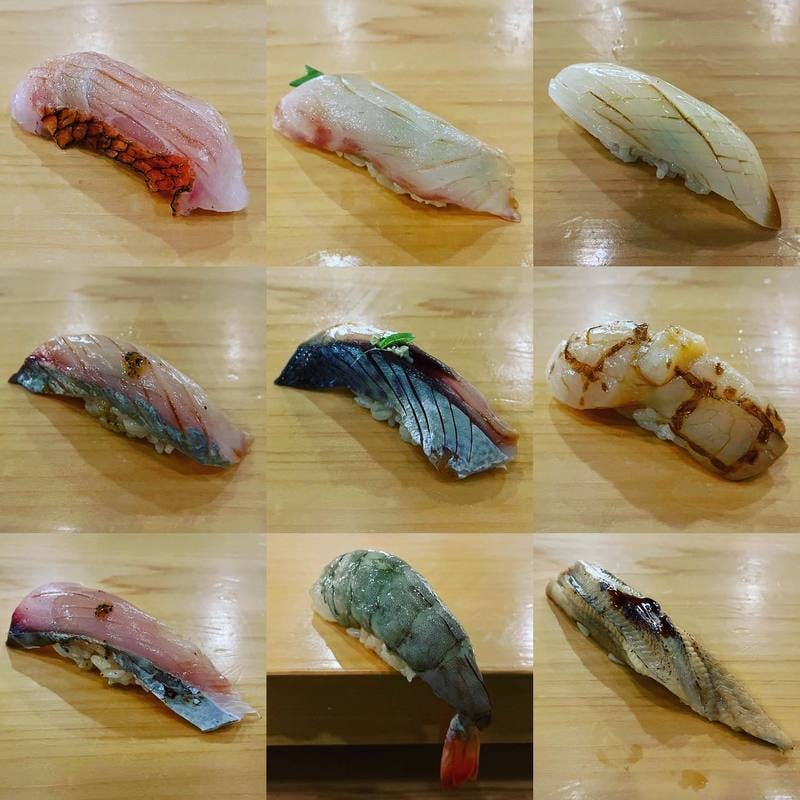 「OMAKASE」で提供される寿司