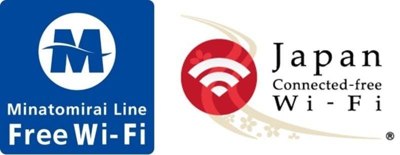 『MinatomiraiLine Free Wi-Fi』