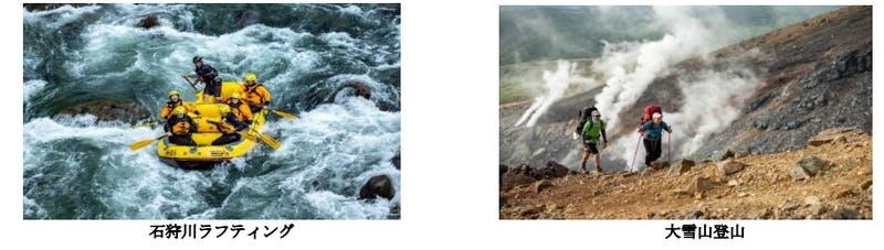 北海道でのアドベンチャーツーリズムの様子:令和3年版観光白書