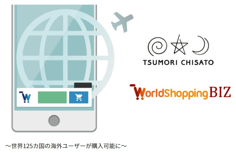TSUMORI CHISATO×WorldShopping BIZ:WorldShopping BIZ NEWS