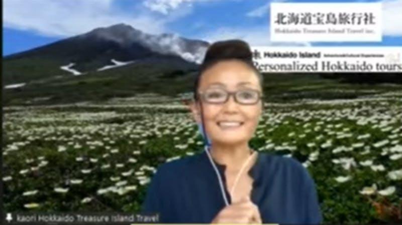 北海道宝島旅行社のトラベルコンサルタント、池田かおり氏