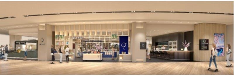 飲食・物販複合型店舗「JW360°」