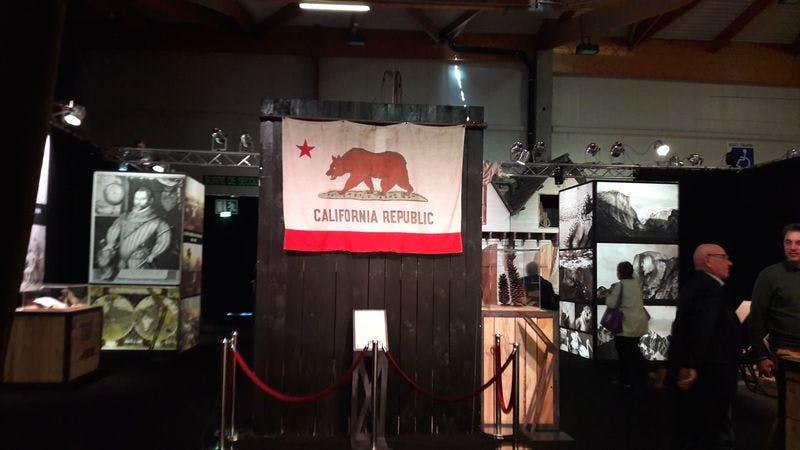 ▲「SITV2018」:カリフォルニア州のブース