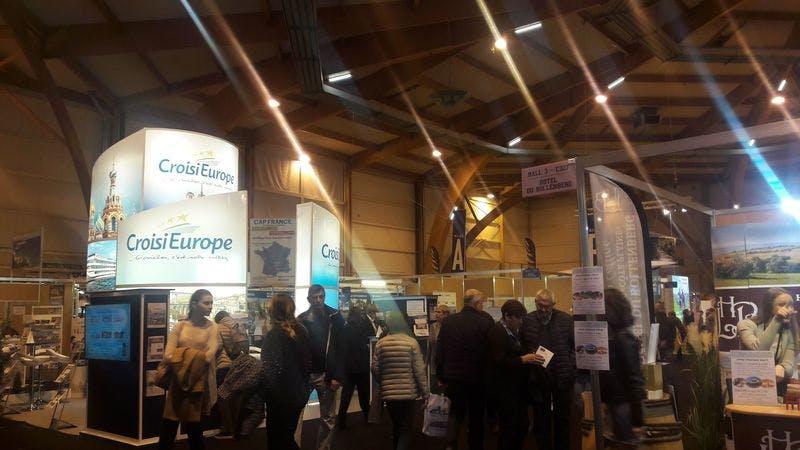 ▲「SITV2018」:ヨーロッパ旅行関連ブース