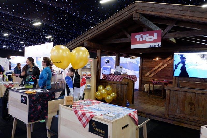▲ロンドンで開催「The Telegraph Ski & Snowboard Festival」:オーストラリアブース