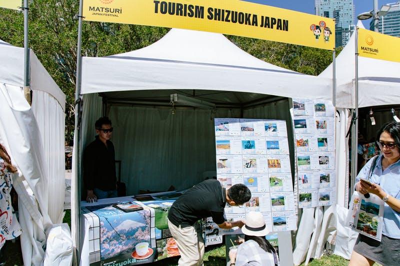 ▲Matsuri-Japan Festival:アンケート実施中の様子