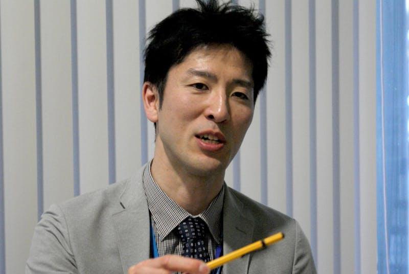 インバウンド対策について語る成田国際空港経営企画部門IT推進部、情報企画グループ、村上智彦氏