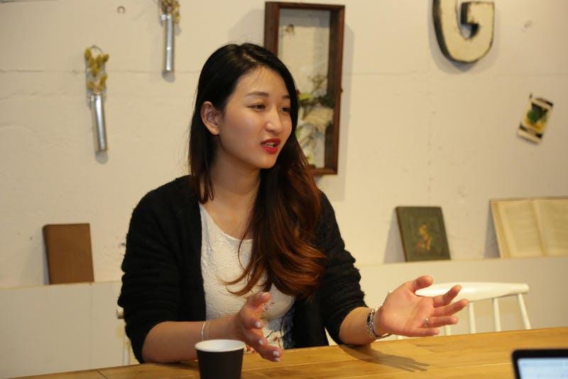 インタビューに答えるNhung(ヌン)さん2