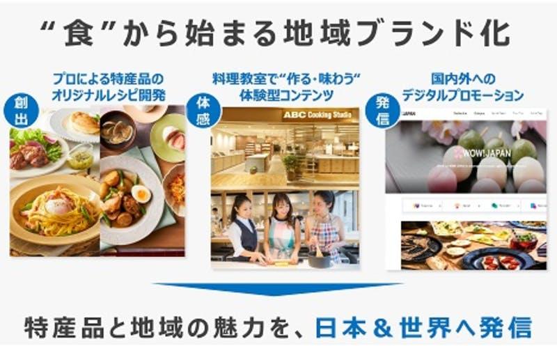 ▲[JTB✕ABC Cooking Stuio✕NTTドコモ]:株式会社JTBのプレスリリースより引用