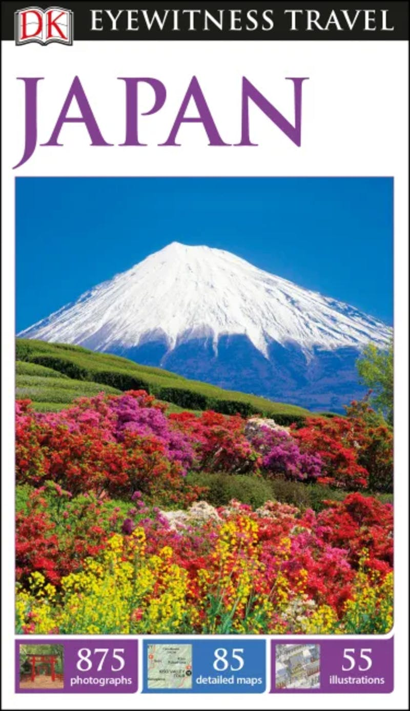 ▲DK Eyewitness Travel Guide Japan