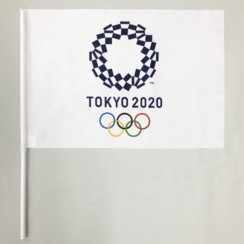 ▲応援フラッグS:東京2020オフィシャルオンラインショップ