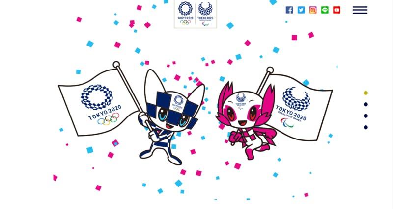 ▲[ミライトワとソメイティ]出典:TOKYO2020公式サイト