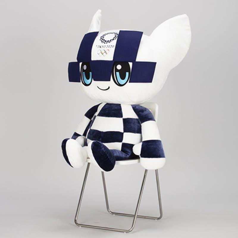 ▲特大ぬいぐるみ(東京2020オリンピックマスコット) :東京2020オフィシャルオンラインショップ