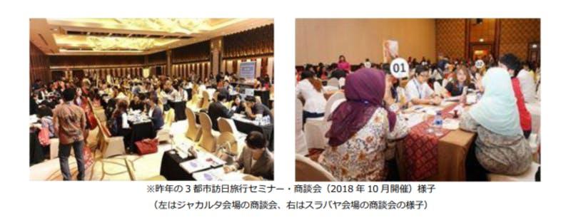 「インドネシア3都市訪日旅行セミナー・商談会」