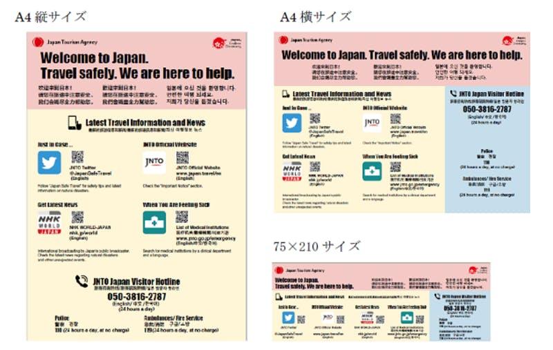訪日外国人旅行者への多言語情報データ
