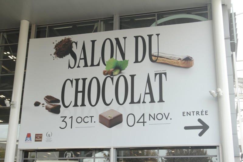▲「サロン・デュ・ショコラ2018」:会場入り口