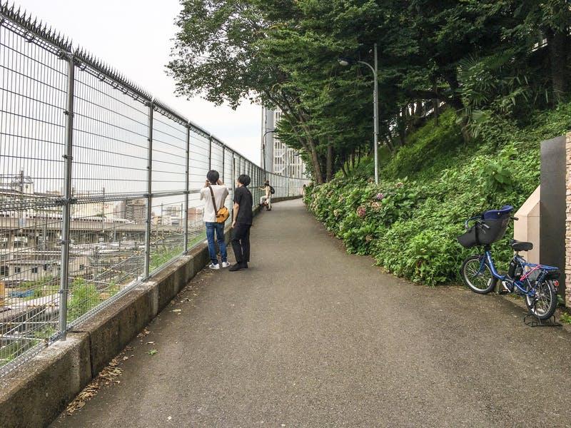 ▲田端駅南口:訪日ラボ撮影