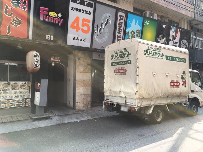 ▲歌舞伎町 アタミビル:訪日ラボ撮影