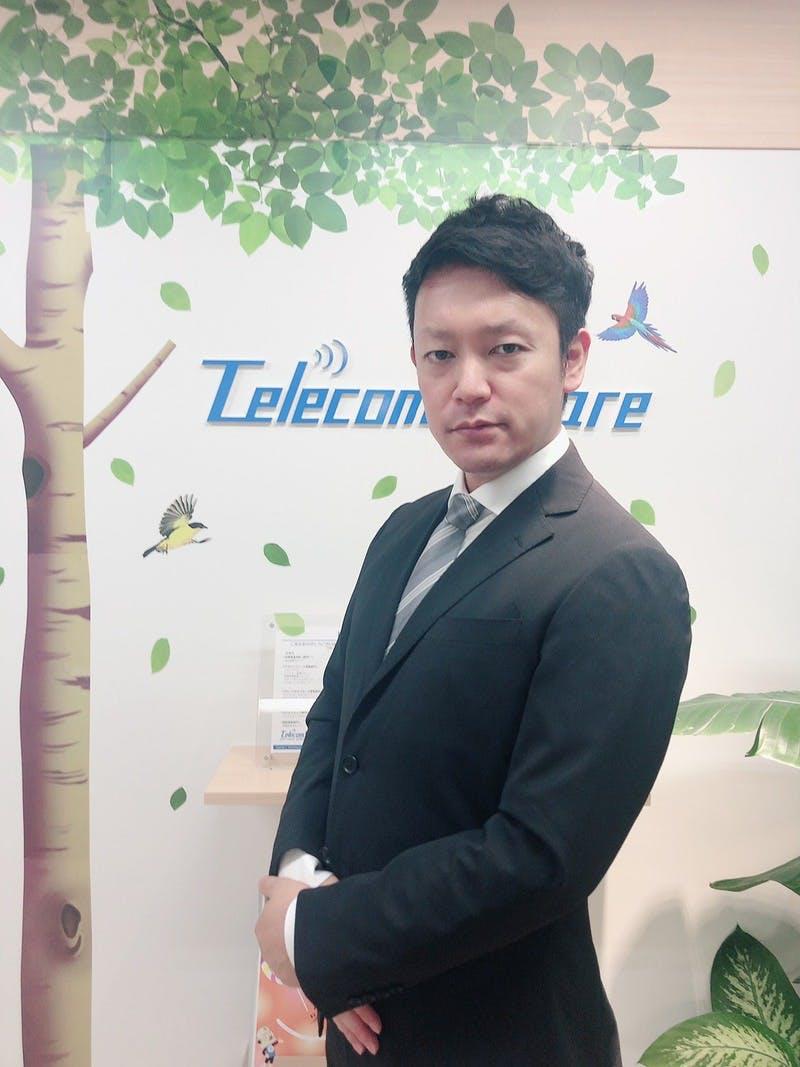 ▲株式会社テレコムスクエア 田中 隼平氏