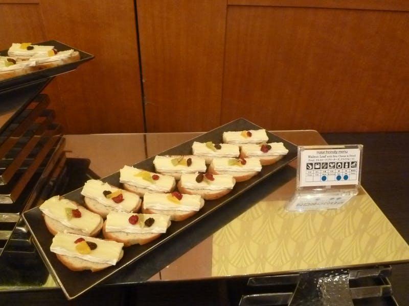 ▲[食材についてパネルで明示することは国際標準になりつつある]:日本コンベンションサービス(株)撮影