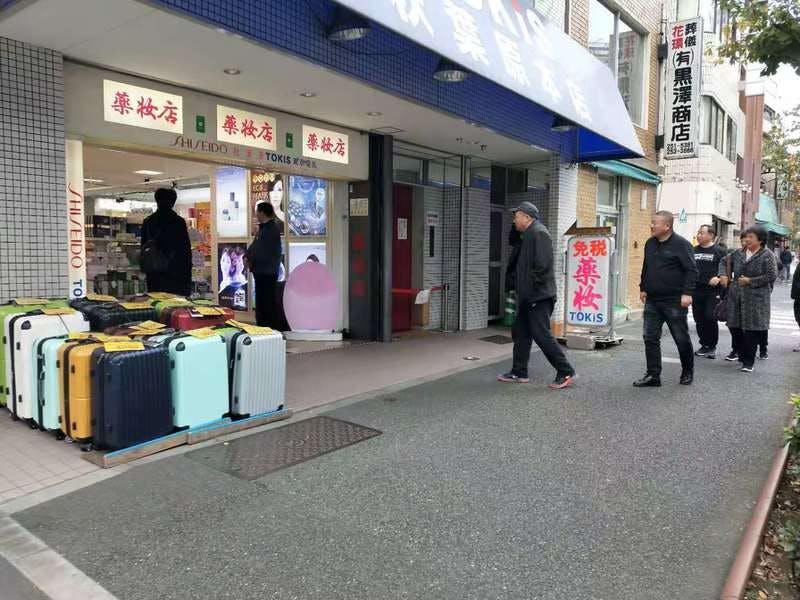 ▲[秋葉原にある、中国人向けと思しき免税店]:筆者撮影