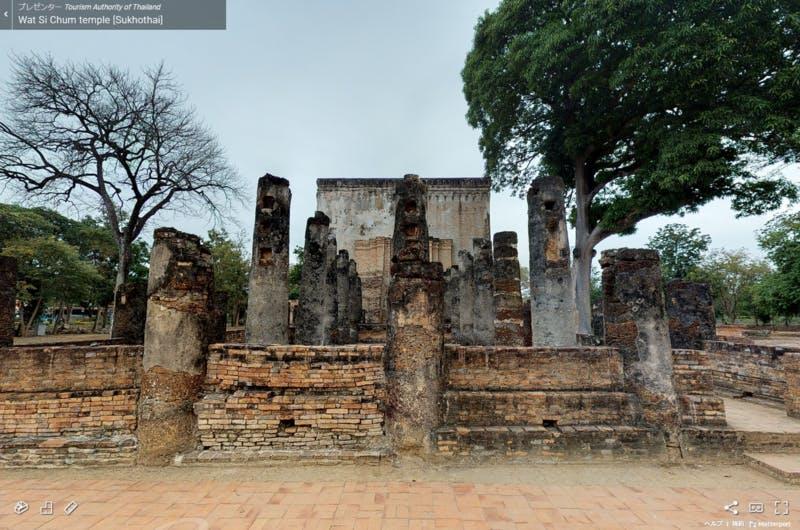 ▲[Wat Si Chum, Sukhothai]:タイ国政府観光庁