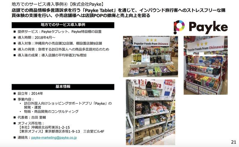 地方でのサービス導入事例【株式会社Payke】
