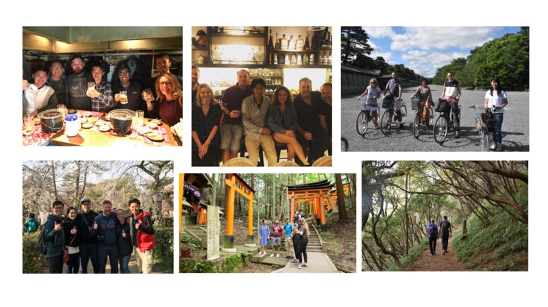 訪日外国人 英語ツアー 少人数限定 ハイキング サイクリング 食べ歩き
