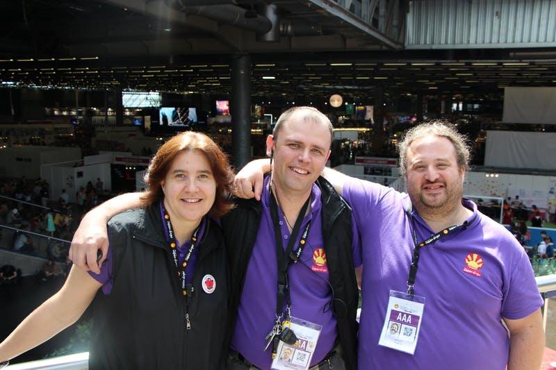 Japan Expo創立者 サンドリーヌ・デュフール氏、ジャン・フランソワ・デュフール氏、トマ・シルデ氏