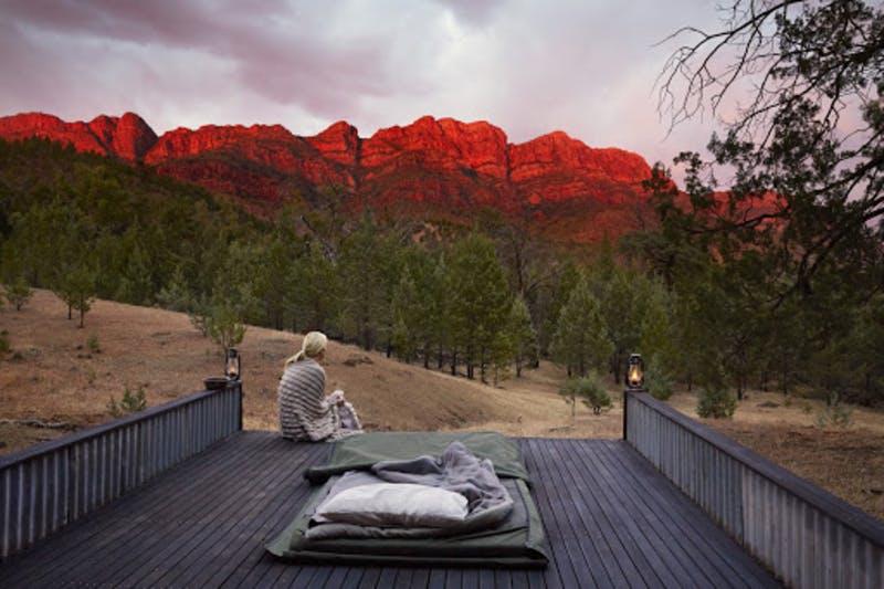 南オーストラリアArkabaのユニークな宿泊施設の事例 Wild Bush Luxury