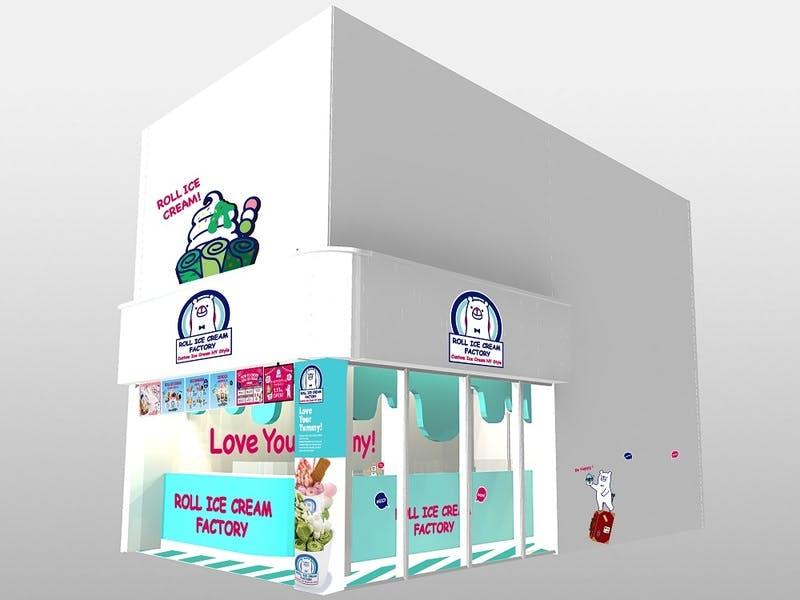 ロールアイスクリームファクトリー 京都・新京極店