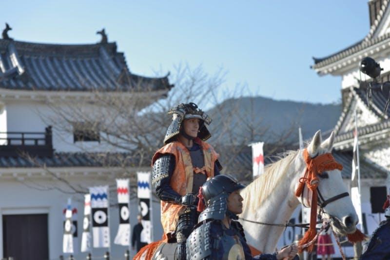 「日本初キャッスルステイ」である大洲城では、まち全体をホテルとした構想で展開する