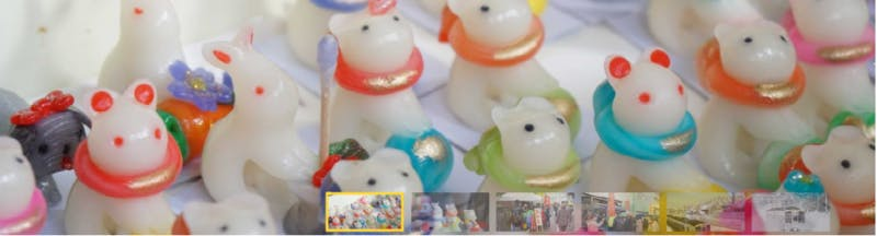 """Guided tour """"Explore Japanese local market to get fortune dolls"""""""
