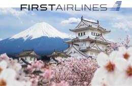 FIRST AIRLINESと自治体がコラボ!インバウンドOKの日本一周の旅