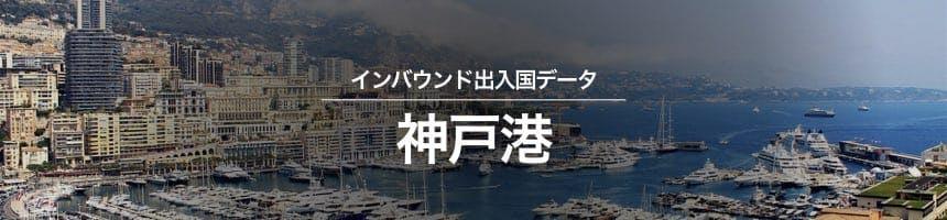 神戸港の出入国外国人数画像