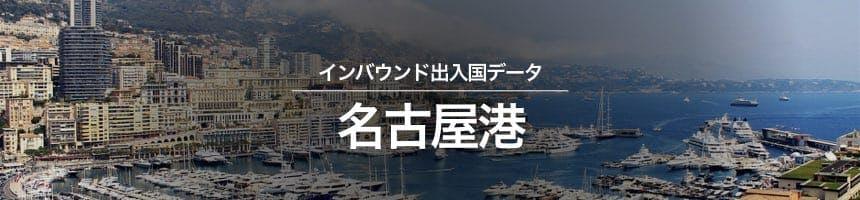 名古屋港の出入国外国人数画像